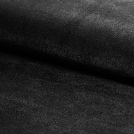 Krzesło KALIPSO czarny materiał MG-19 ze złotą nóżką