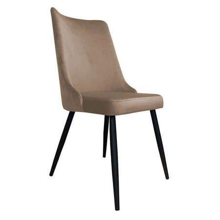 Krzesło Orion jasnobrązowe materiał MG-06