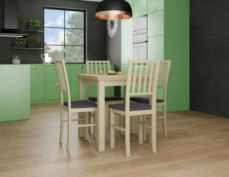 Krzesło drewniane LOTOS Sonoma Tkanina 10
