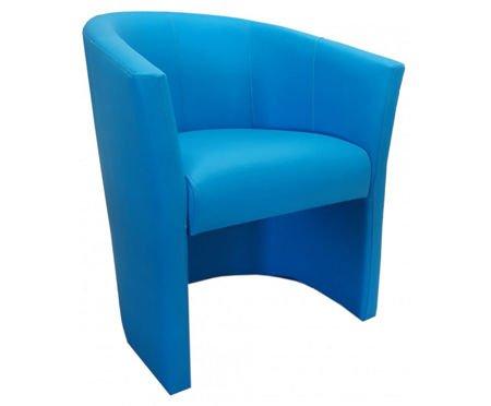 Niebieski fotel CAMPARI