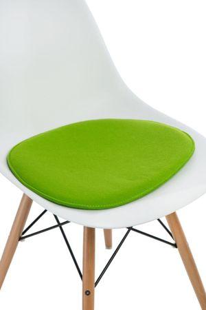 Poduszka na krzesło KR012 zielona