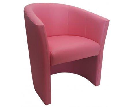 Różowy fotel CAMPARI