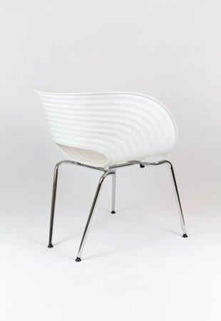 SK Design KR011 Białe Krzesło