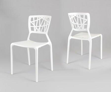 SK Design KR014 Białe Krzesło