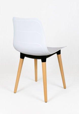 SK DESIGN KR062 Białe Krzesło