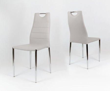 SK Design KS005 Jasnoszare Krzesło