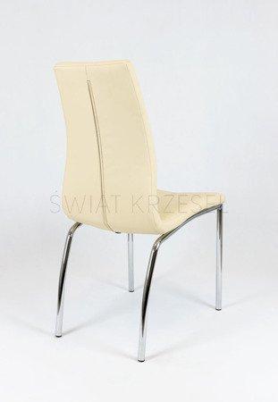 SK Design KS010 Ciemnokremowe Krzesło