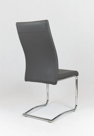 SK Design KS020 Ciemnoszare Krzesło