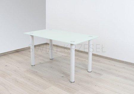 SK Design ST10 Stół Biały-Szklany 140 x 75 cm