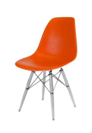 SK Design KR012 Pomarańczowe Krzesło, Nogi lodowe