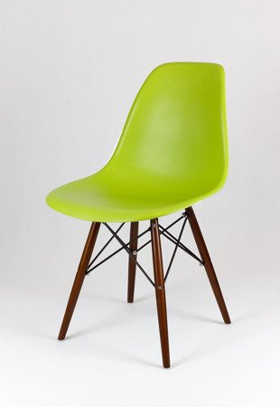 SK Design KR012 Seledynowe Krzesło, Nogi wenge