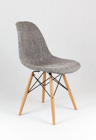 SK Design KR012 Tapicerowane Krzesło Lawa05, Nogi buk
