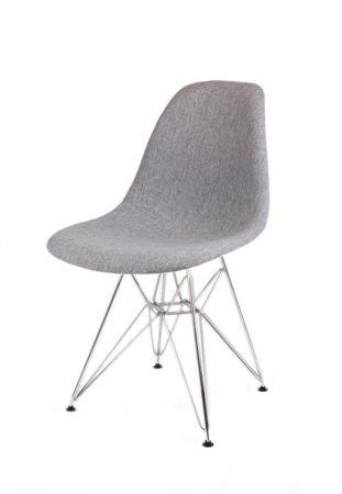 SK Design KR012 Tapicerowane Krzesło Muna08 Chrom