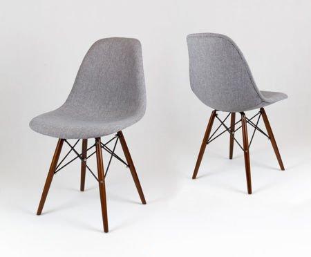 SK Design KR012 Tapicerowane Krzesło Muna08 Wenge
