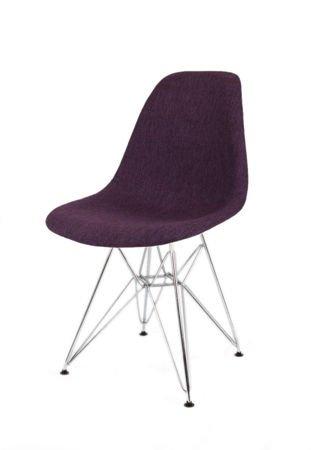 SK Design KR012 Tapicerowane Krzesło Muna17 Chrom