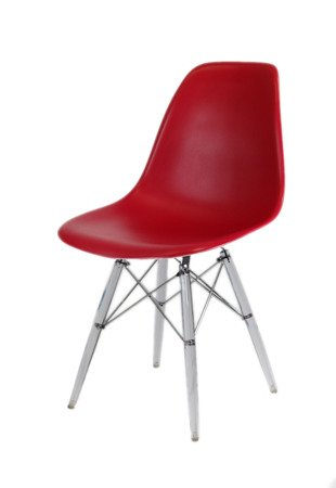 SK Design KR012 Wiśniowe Krzesło, Nogi lodowe