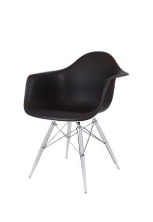 SK Design KR012F Czarny Fotel Lodowe