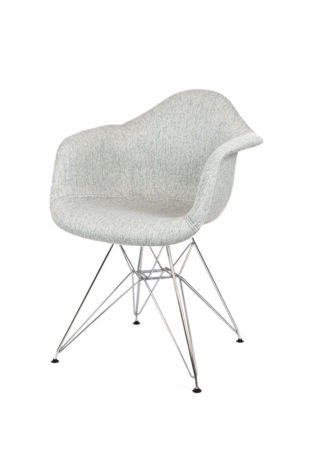 SK Design KR012F Tapicerowany Fotel Atol02 Chrom