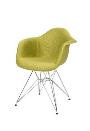SK Design KR012F Tapicerowany Fotel Atol05 Chrom