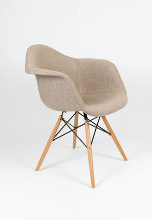 SK Design KR012F Tapicerowany Fotel Muna03 Buk