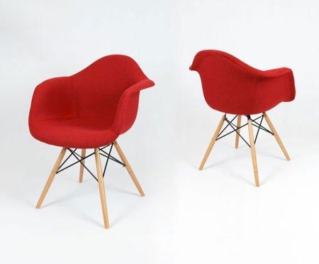 SK Design KR012F Tapicerowany Fotel Muna18 Buk