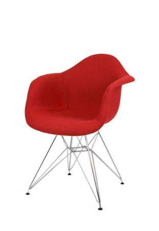SK Design KR012F Tapicerowany Fotel Muna18 Chrom