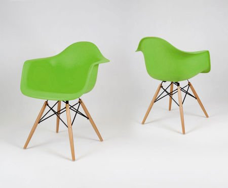 SK Design KR012F Zielony Fotel Buk