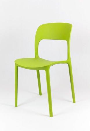 SK Design KR022 Zielone Krzesło Polipropylenowe UFO