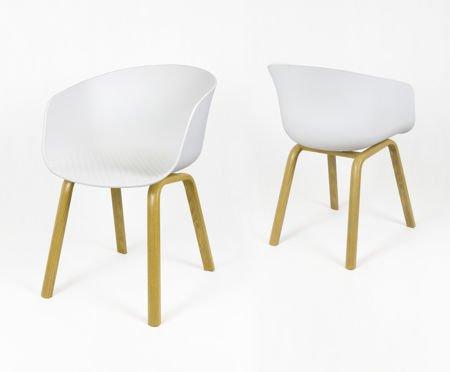 SK Design KR049 Białe Krzesło