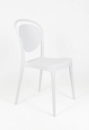 SK Design KR055 Białe Krzesło