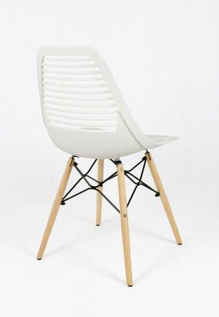 SK Design KR058 Białe Krzesło