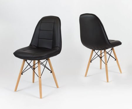 SK Design KS009 Czarne Krzesło
