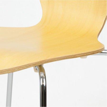 SK Design SKD007 Drewniane Krzesło Naturalne
