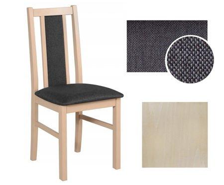 krzesło drewniane ASTER Dąb Sonoma 11